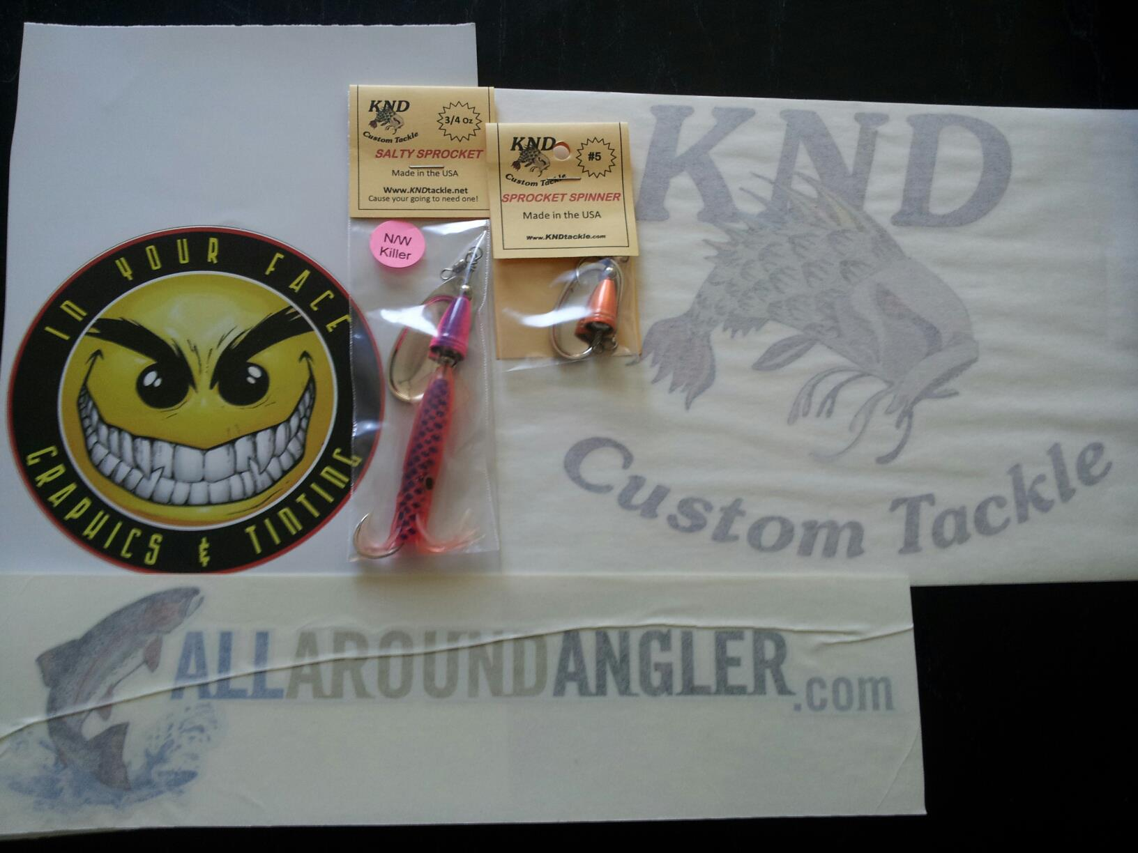 Free fishing gear prizes and contests All Around Angler com