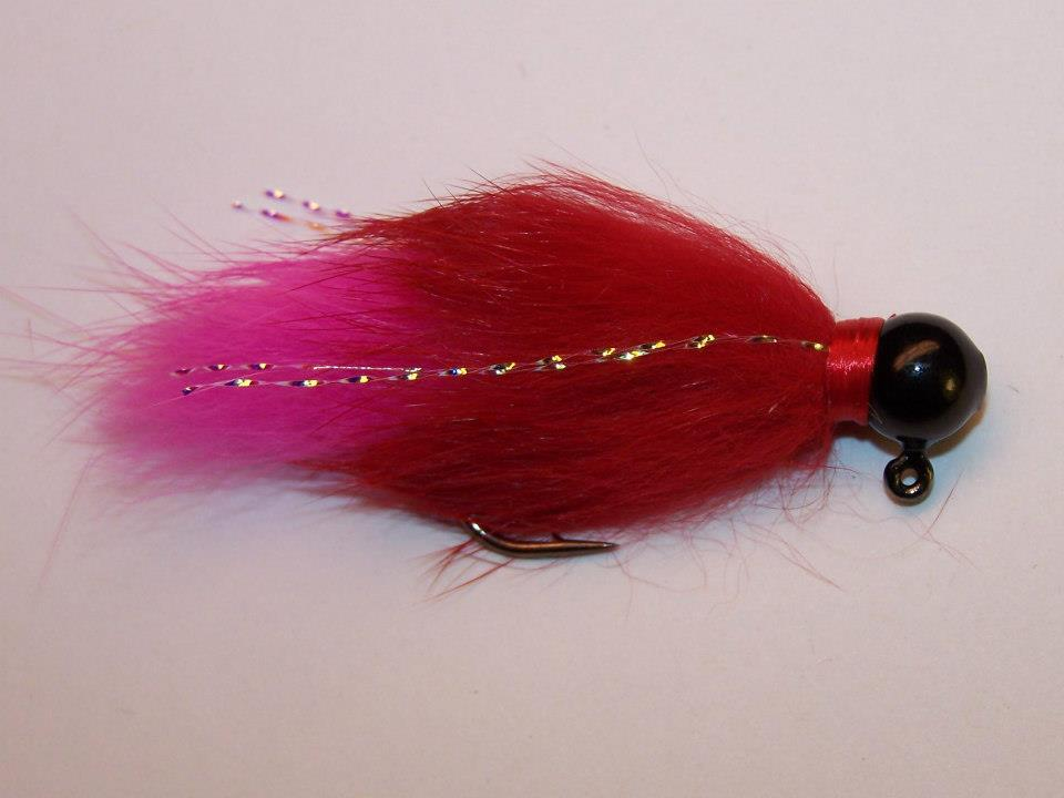 Hot pink and red rabbit